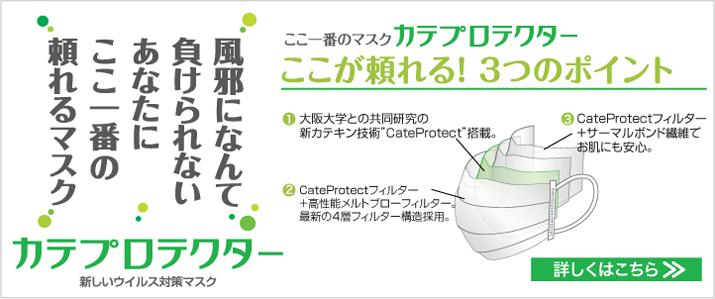 ここ一番のマスク カテプロテクター 3つの特徴